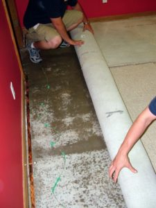 install flooring before painting