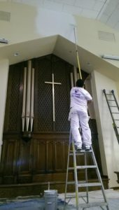 Church Painting McMinnville