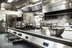 commercial kitchen painting Portland