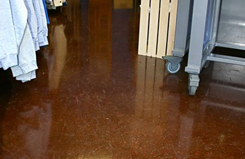 concrete coatings for stores McMinnville