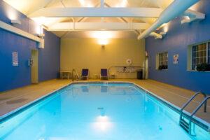 Hotel swimming pool painting Portland