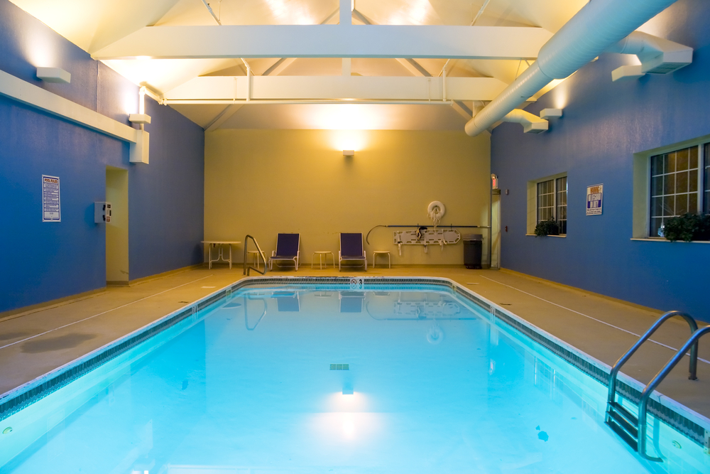 Hotel swimming pool painting Portland