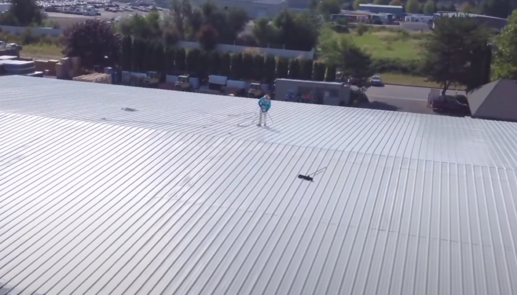 Galvanized roof painting case study Woodburn OR